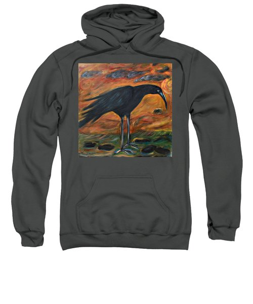 Long Legged Crow Sweatshirt