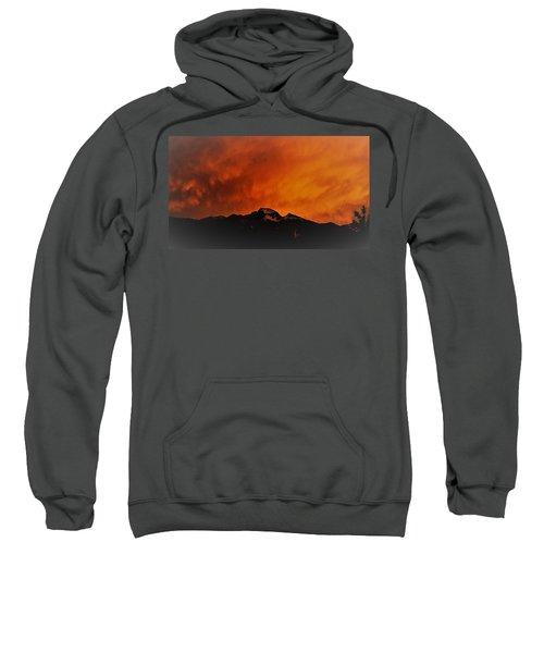Longs Peak Sunset Sweatshirt