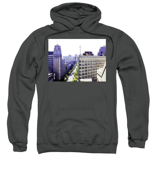 Looking Down Market Sweatshirt