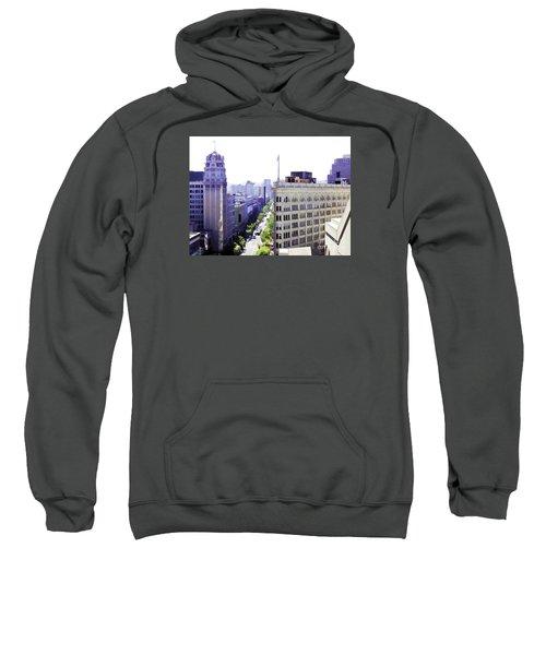Looking Down Market Sweatshirt