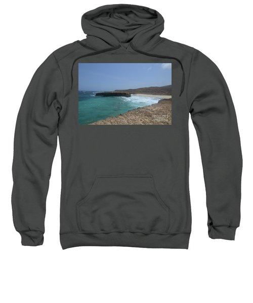 Looking Down On Boca Keto From A Lava Rock Ledge Sweatshirt