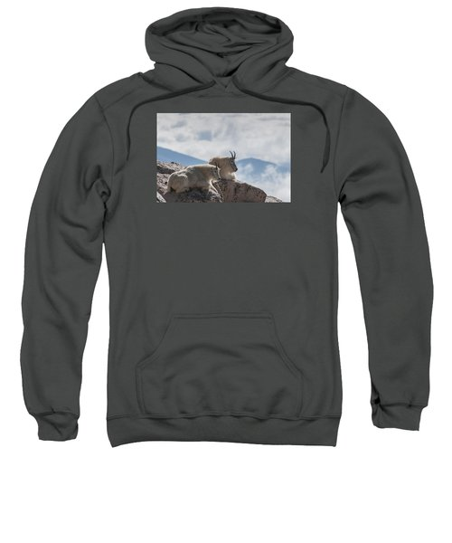 Looking Down On The World Sweatshirt by Gary Lengyel