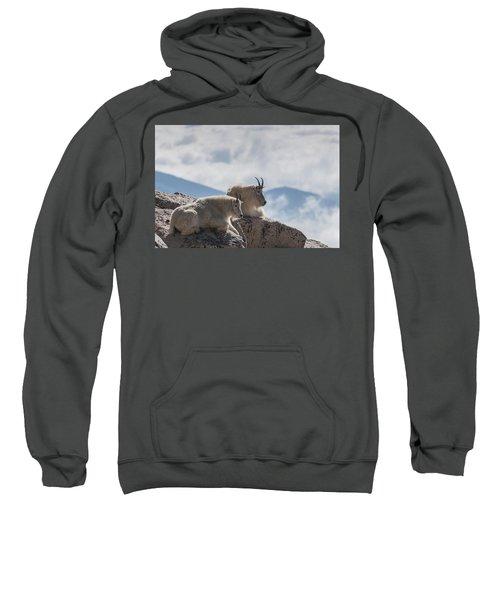 Looking Down On The World Sweatshirt