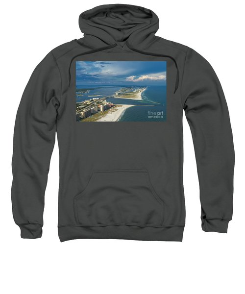 Looking East Across Perdio Pass Sweatshirt