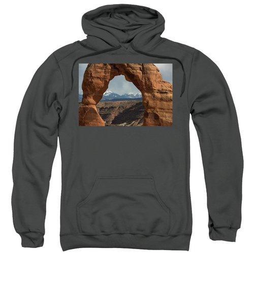 Looking Through Delicate Arch Sweatshirt