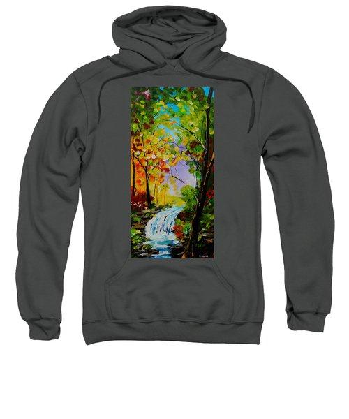 Looking Through Sweatshirt