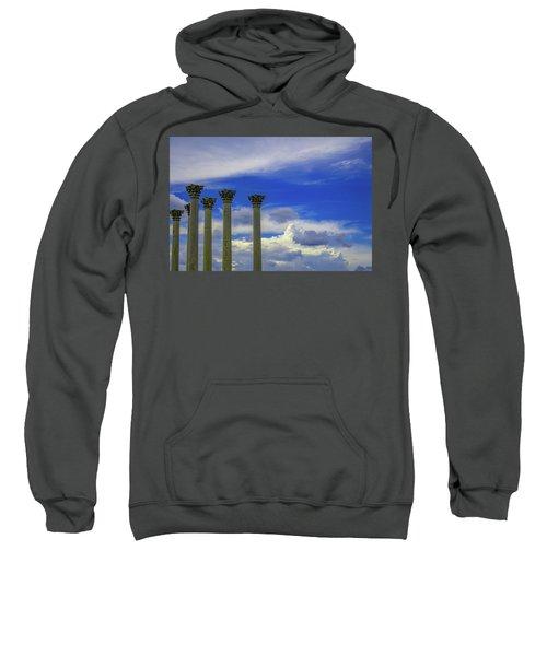 Looking Towards Olympus  Sweatshirt