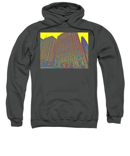 Looking Up In Love Park Sweatshirt
