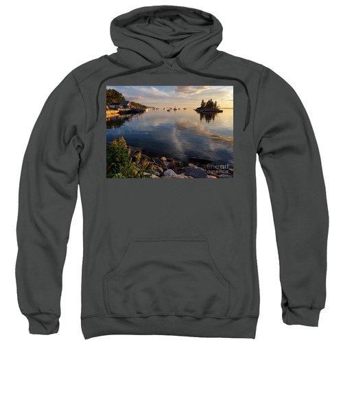 Lookout Point, Harpswell, Maine  -99044-990477 Sweatshirt