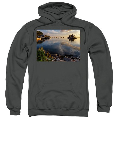 Lookout Point, Harpswell, Maine  -99044-990477 Sweatshirt