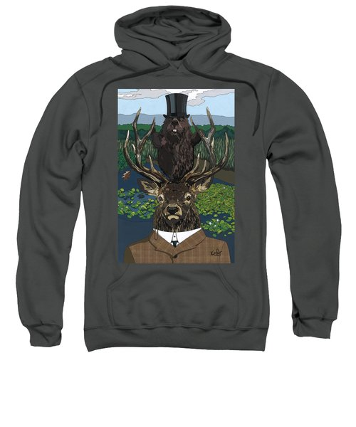 Lord Of The Manor With Hidden Pictures Sweatshirt