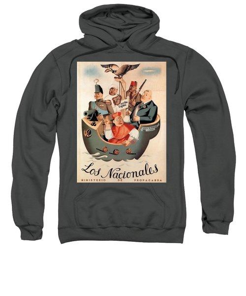 Los Nacionales - Ministerio De Propaganda - Vintage Propaganda Poster Sweatshirt