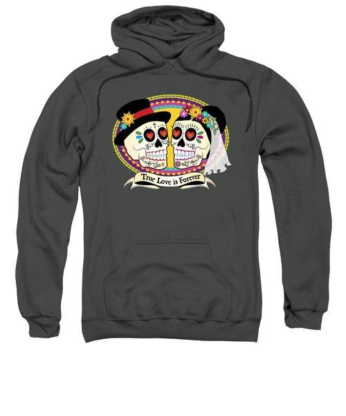 Los Novios Sugar Skulls Sweatshirt