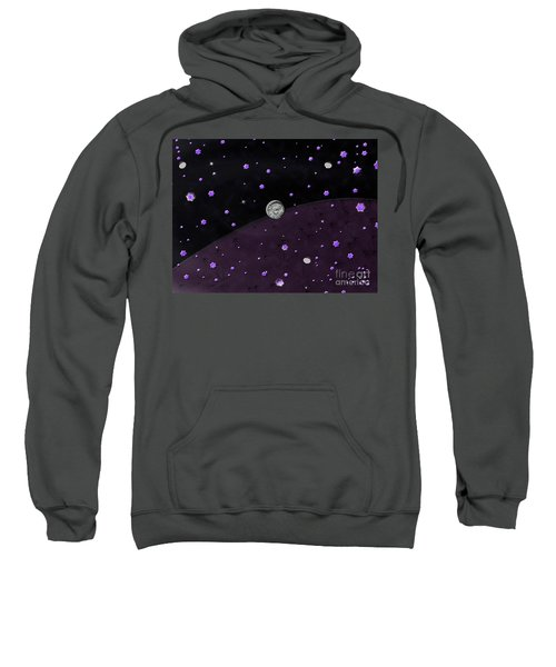Lost In Midnight Charcoal Stars Sweatshirt