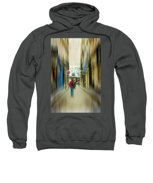 Lost In The Maze Of The City Sweatshirt