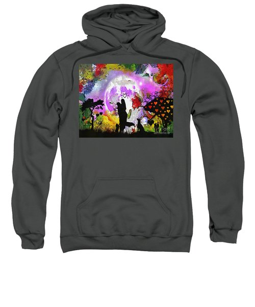 Love Family And Friendship In The Mix Sweatshirt