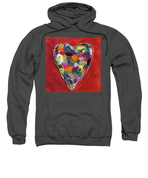 Love Is Colorful - Art By Linda Woods Sweatshirt
