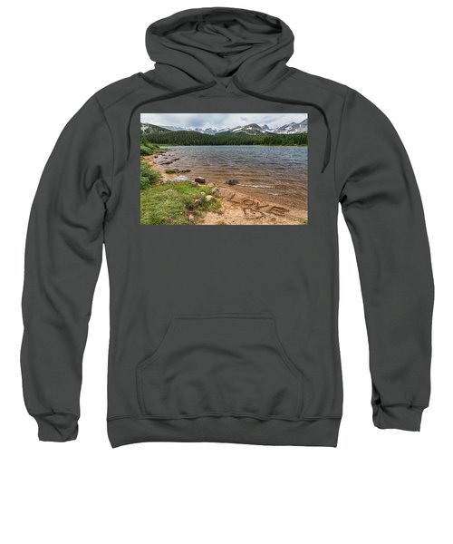 Love The Colorado Rocky Mountains Sweatshirt