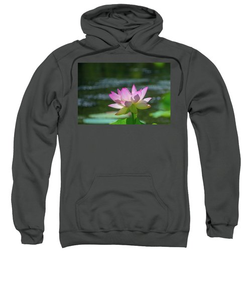 Lovely Lotus In Pink Sweatshirt