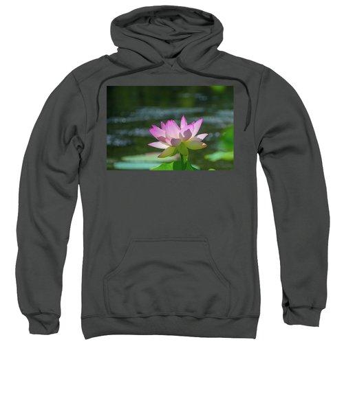 Lovely Lotus In Pink Sweatshirt