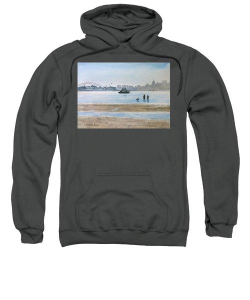 Low Tide At Rose Bay Sweatshirt