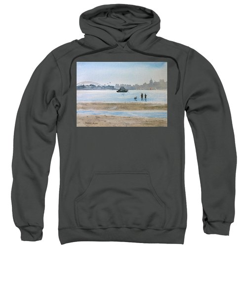 Low Tide At Rose Bay Sweatshirt