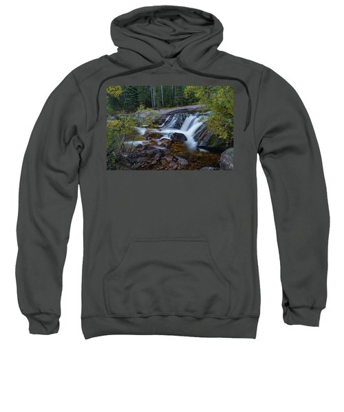 Lower Copeland Falls Sweatshirt by Gary Lengyel