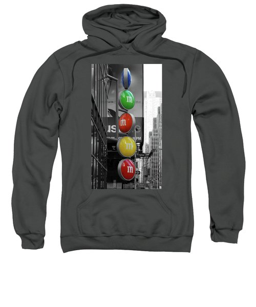 M And Ms In New York City Sweatshirt