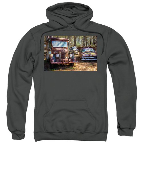 Mack Truck And Plymouth Sweatshirt