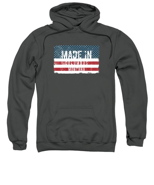 Made In Columbus, Montana Sweatshirt