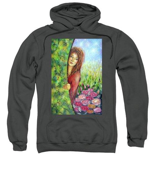 Magic Garden 021108 Sweatshirt