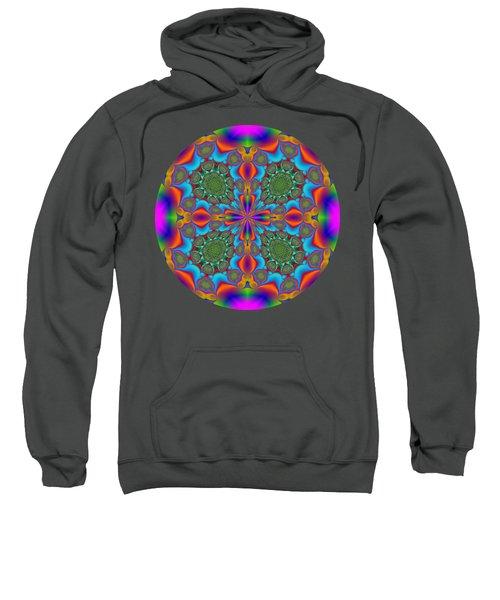 Magic Mandala Fractal Circle Sweatshirt