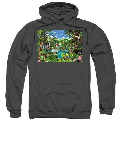 Magnificent Rainforest Sweatshirt