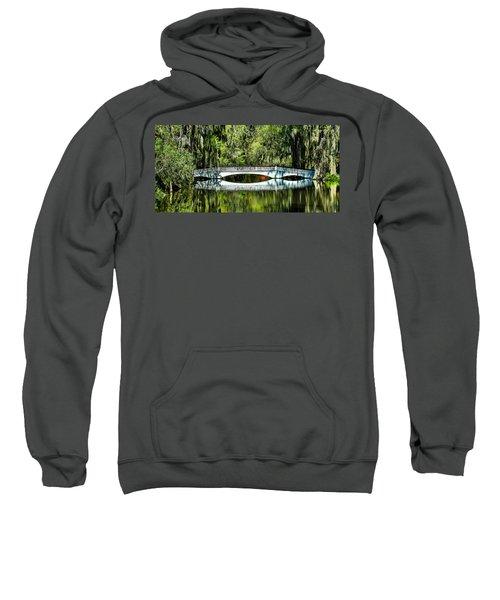 Magnolia Plantation Bridge - Charleston Sc Sweatshirt