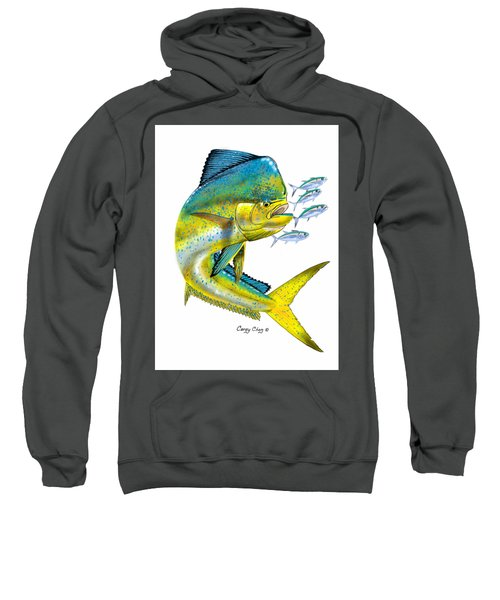 Mahi Digital Sweatshirt by Carey Chen