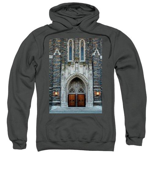 Main Entrance To Chapel Sweatshirt