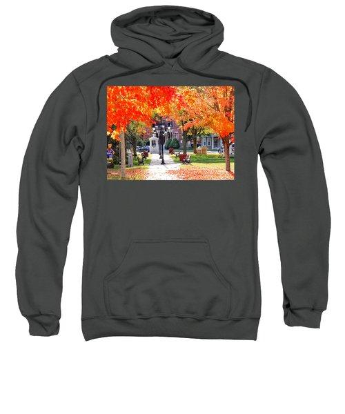 Main Street In The Fall Sweatshirt
