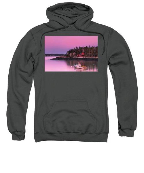 Maine Five Islands Coastal Sunset Sweatshirt
