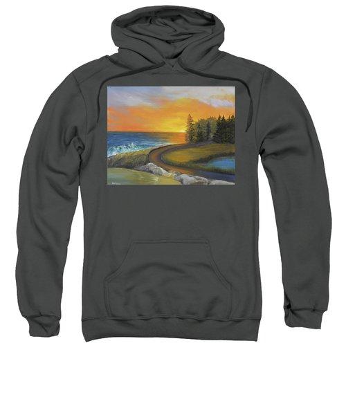 Maine Ocean Sunrise Sweatshirt