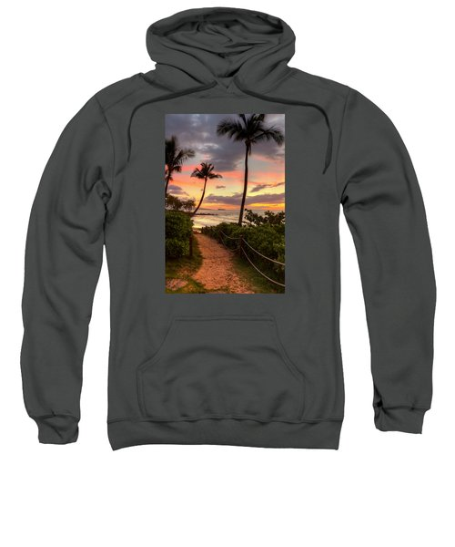 Makena Sunset Path Sweatshirt