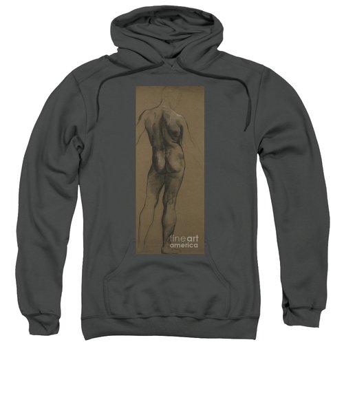 Male Nude Study Sweatshirt
