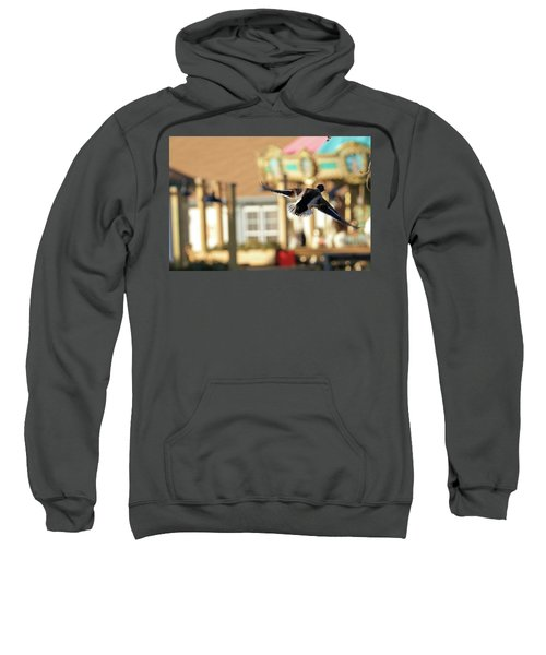 Mallard Duck And Carousel Sweatshirt