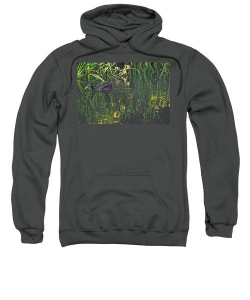 Mallard In The Marsh Sweatshirt