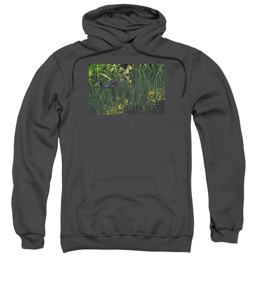 Mallard In The Marsh Sweatshirt