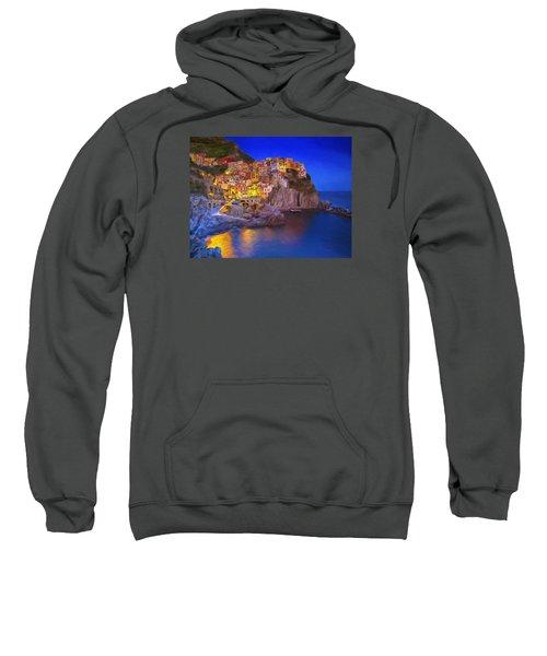 Manarola By Moonlight Sweatshirt