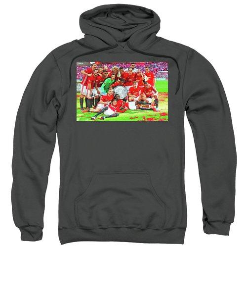 Manchester United Celebrates Sweatshirt by Don Kuing