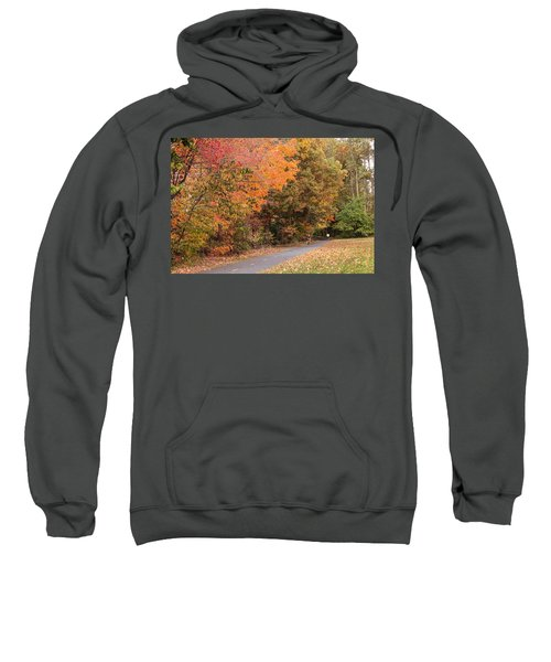 Manhan Rail Trail Fall Colors Sweatshirt