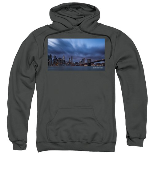 Manhattan And Brooklyn Bridge Sweatshirt