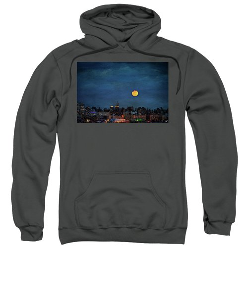 Manhattan Moonrise Sweatshirt
