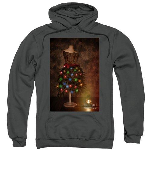 Mannequin Dressed For Christmas Sweatshirt